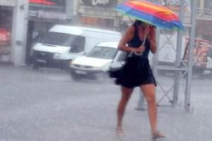 """İstanbul'da etkili olması beklenen yağış için art arda önemli uyarılar geliyor. Sigorta şirketleri vatandaşları SMS'ler ile """"Aracınızı mümkünse kapalı otoparka bırakınız"""" şeklinde uyardı. İBB Başkanı Kadir Topbaş da yarın için, vatandaşlara """"toplu taşıma araçlarını kullanın"""" dedi."""